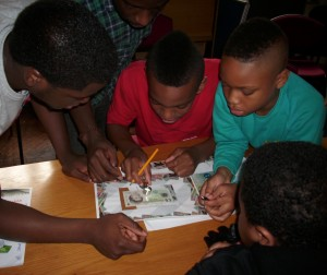 We deliver lessons that speak to youths in their language, in their neighbourhoods.