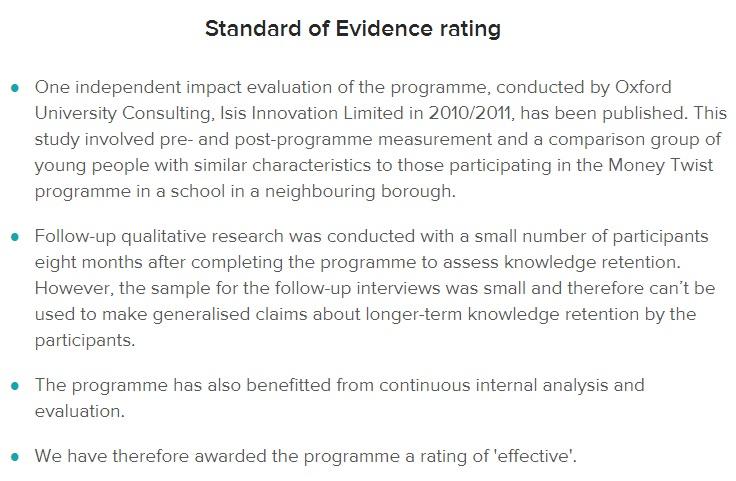 Evidence Hub Standard